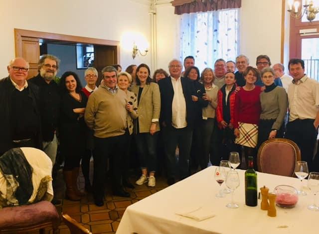 Repas organisateurs janvier 2019