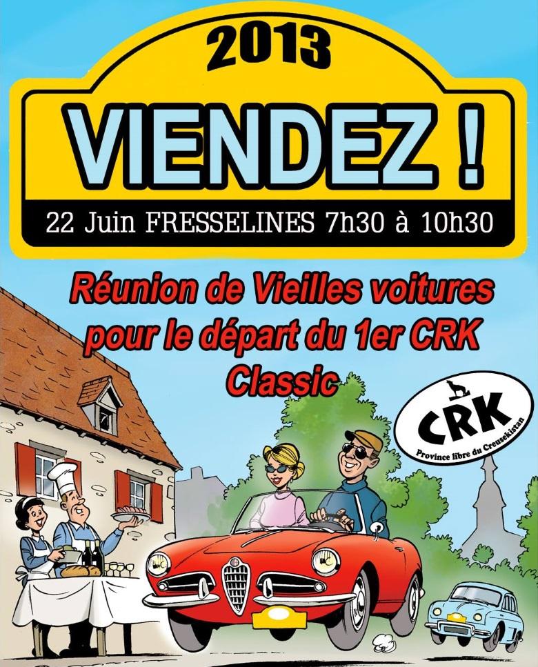 Première affiche Creuseksitan Classic 2013