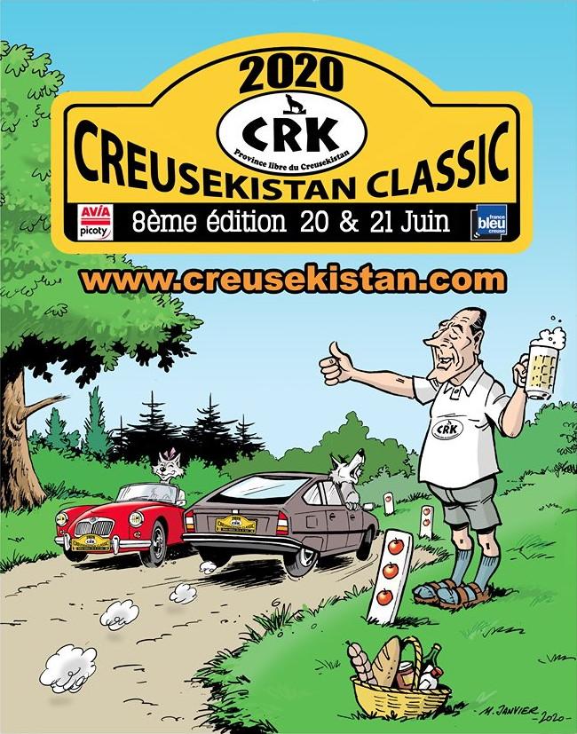 Affiche Creusekistan Classic 2020