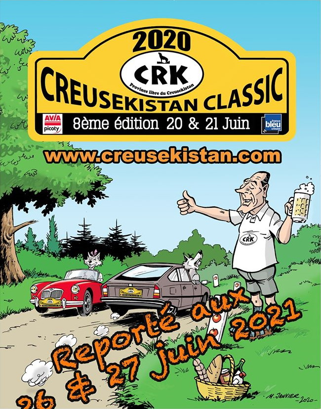 Affiche Creusekistan Classic 2020 annulation
